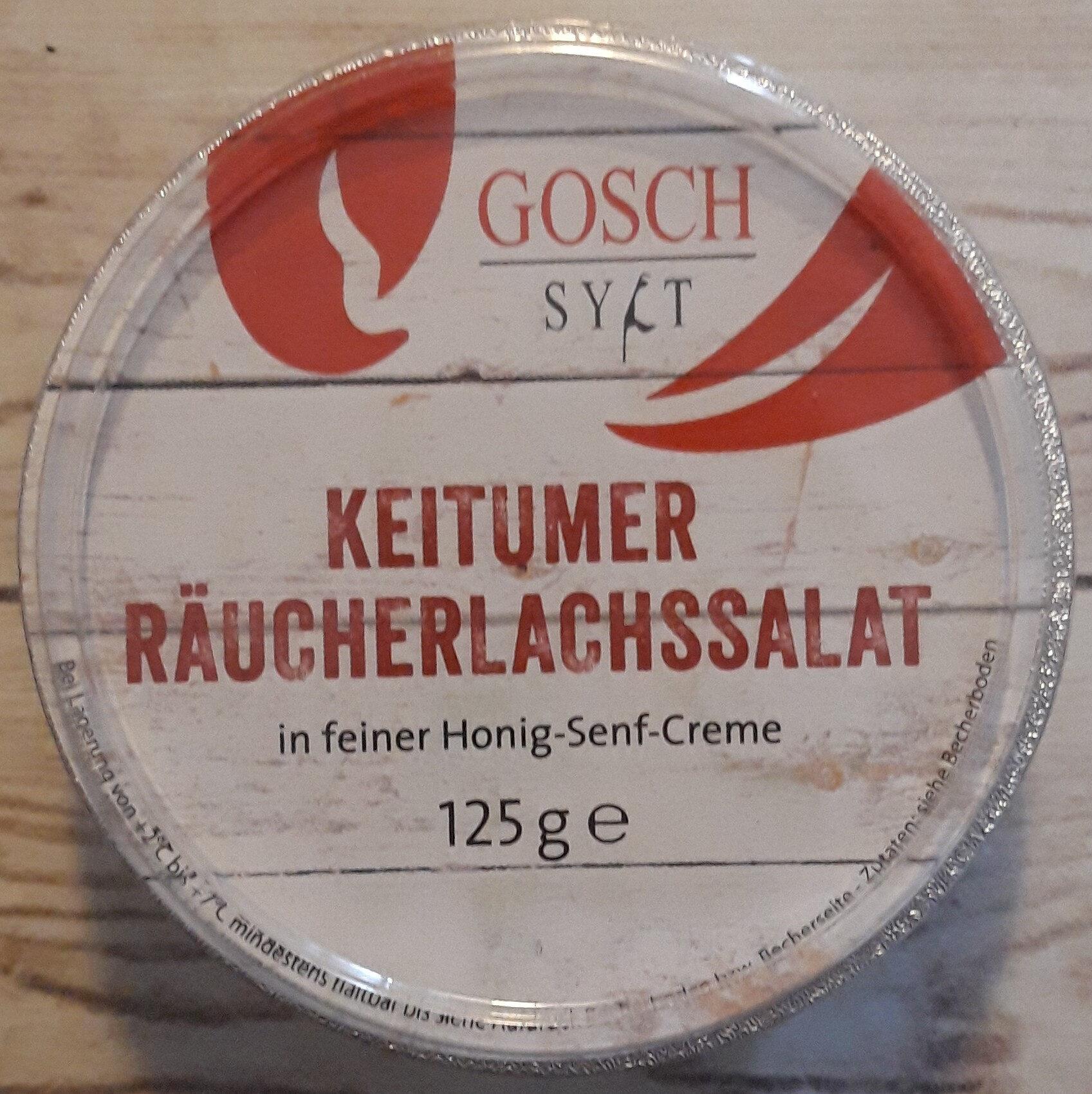 Keitumer Räucherlachssalat - Produkt - de
