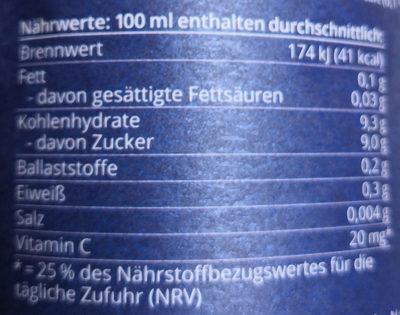 Winter-Frühstück - Informations nutritionnelles - de