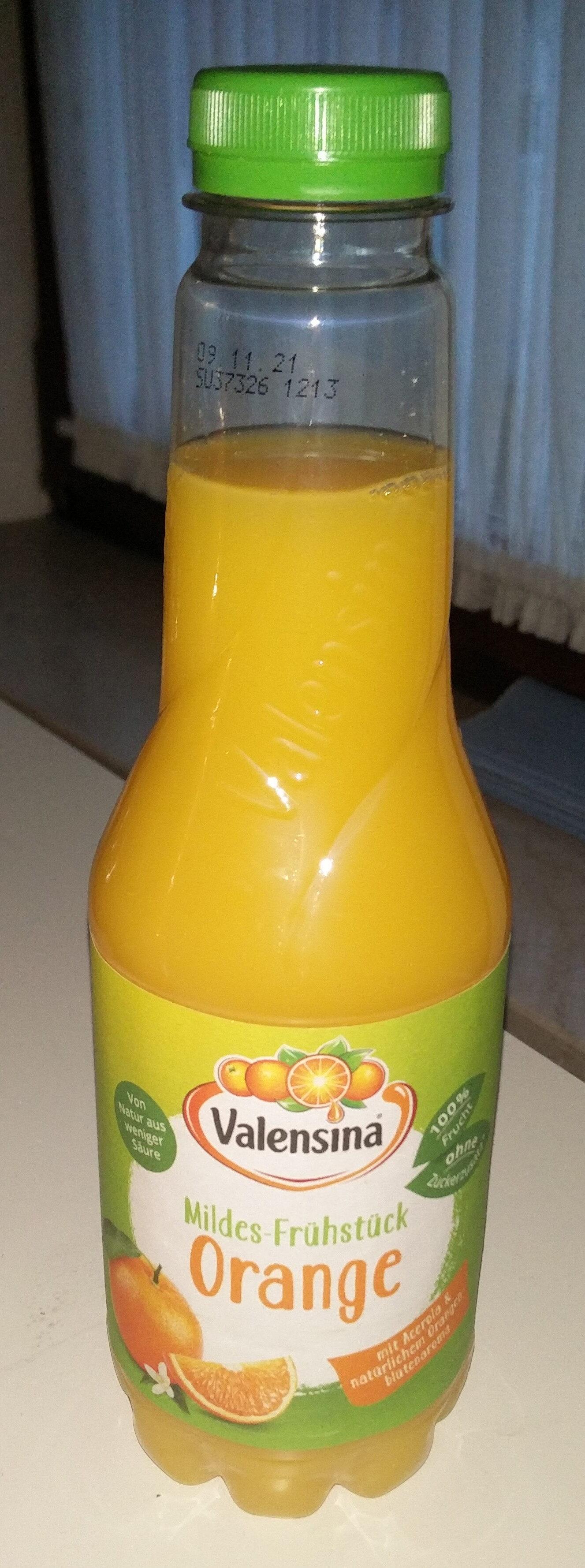 Mildes-Frühstück Orange - Produit - de