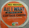 All I Want Cottage Cheese Karotte + Ingwer - Product