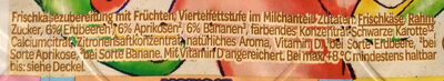 Danonino - Ingredients - de