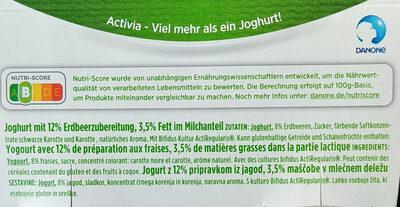 Yoghurt - Zutaten - de