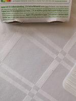 Yoghurt - Nährwertangaben - de