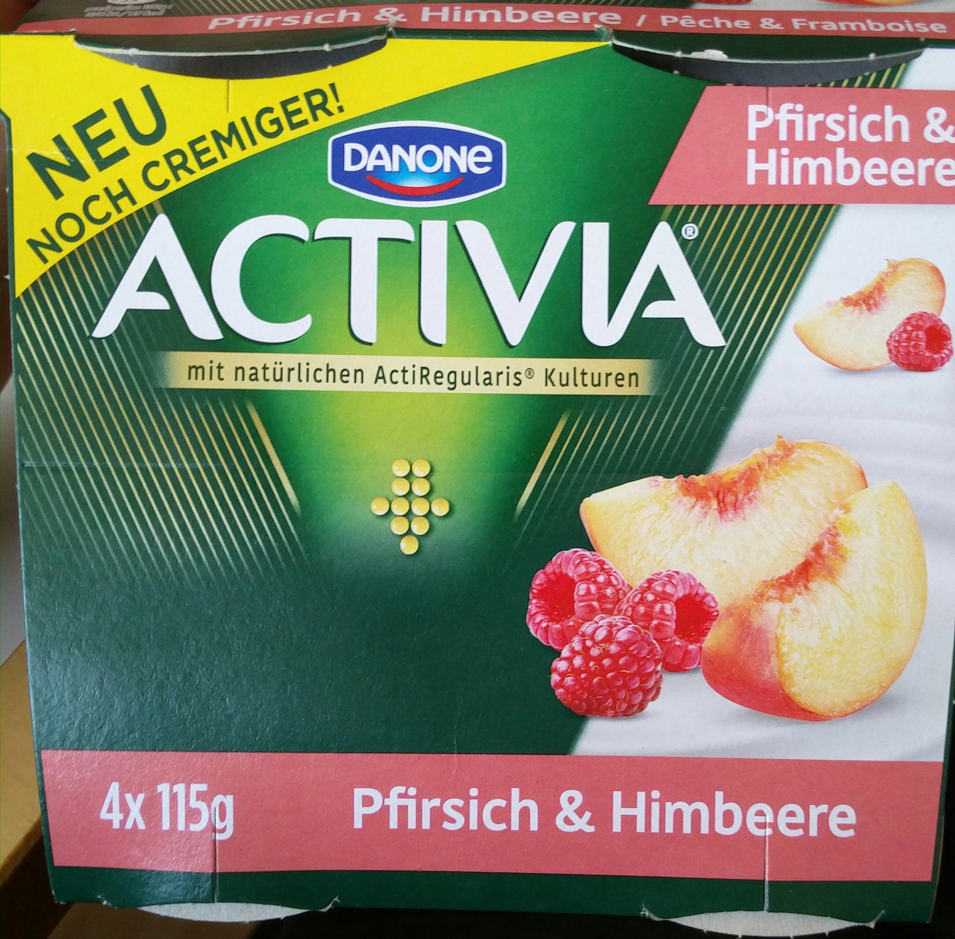 Activia Pfirsich & Himbeere - Product