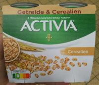 Yaourt activia céréales - Produit - fr