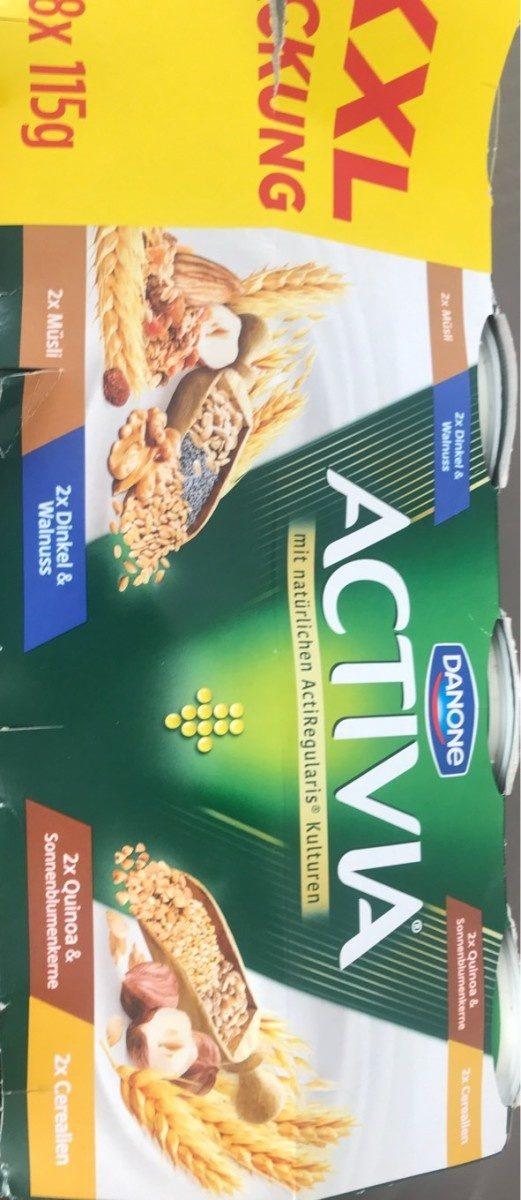 Activia avec cereale - Produit - fr