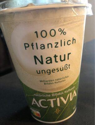 100 % pflanzlich Natur ungesüßt - Produit
