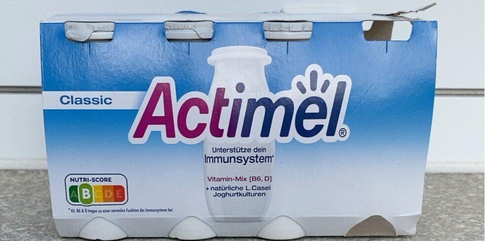 Danone Actimel Drink Classic, 8 x 100 g - Produkt - de