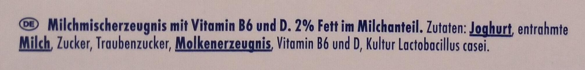 Danone Actimel Drink Classic, 8 x 100 g - Inhaltsstoffe - de