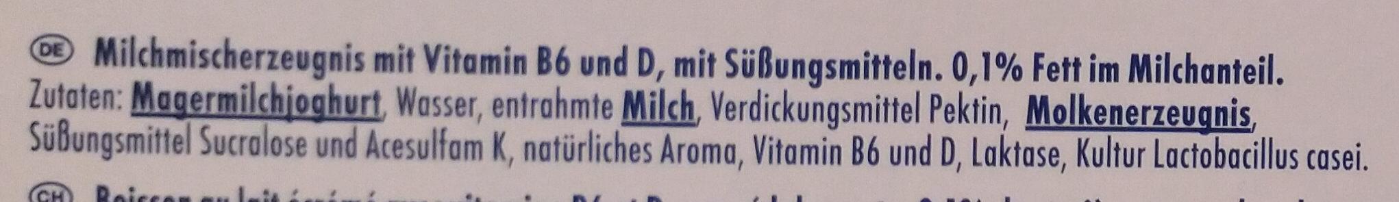 Actimel Classic - Ingredients - de