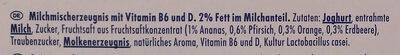 Actimel Multifrucht - Ingrediënten - de