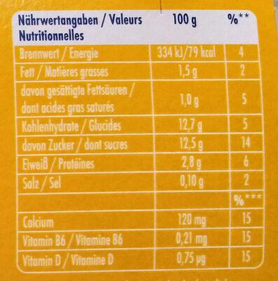 Actimel Multifrucht - Voedingswaarden - de