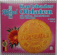 Karlsbader Oblaten - Produkt