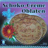 Schoko-Creme Oblaten - Produkt