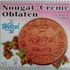 Nougat-Creme Oblaten - Produkt