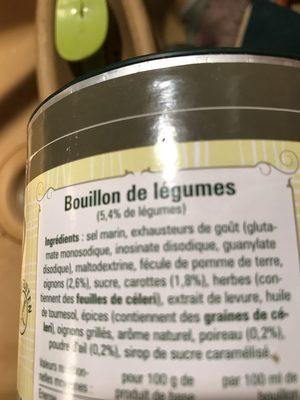 Tello fix aromatique - Ingrédients - fr