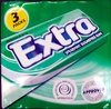Extra (pack of 3) - spearmint sugarfree gum - Product