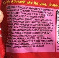 Skittles - Ingredients - en