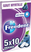 Freedent myrtille - Product - fr