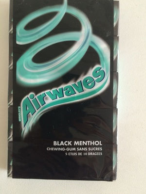 Airwaves Black Menthol - Product - fr