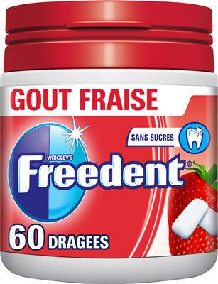 Freedent fraise - Product - fr