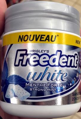 Freedent White Menthe Forte sans sucres - Product - fr