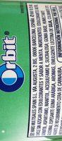 Chicles de hierbabuena sin azúcar - Ingrediënten