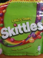 Skittles crazy sours - Product - fr