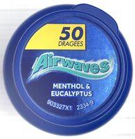 Wrigley's Airwaves Menthol & Eucalyptus - Product - de
