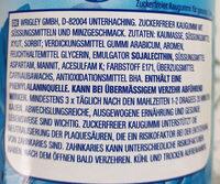 Extra PEPPERMINT - Inhaltsstoffe - de