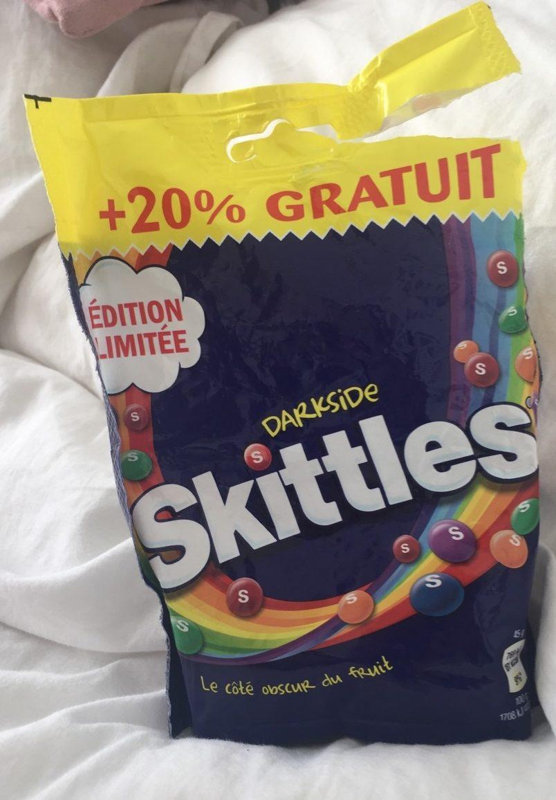 Bonbons Skittles Darkside