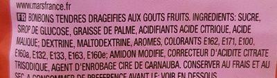 Skittles fruits - Ingredients - fr