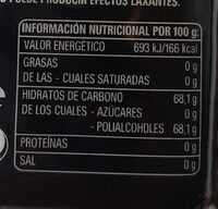 5 Gum Fresa - Nutrition facts