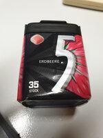 Wrigleys 5 Gum Erdbeere - Product