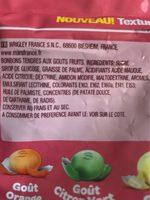 Skittles Chewies - Ingredients