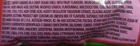 giant skittles - Ingredients - en
