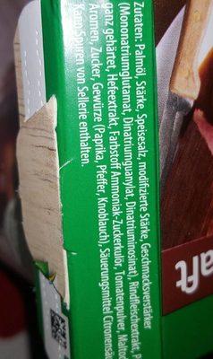 klarer Bratensaft - Ingrédients