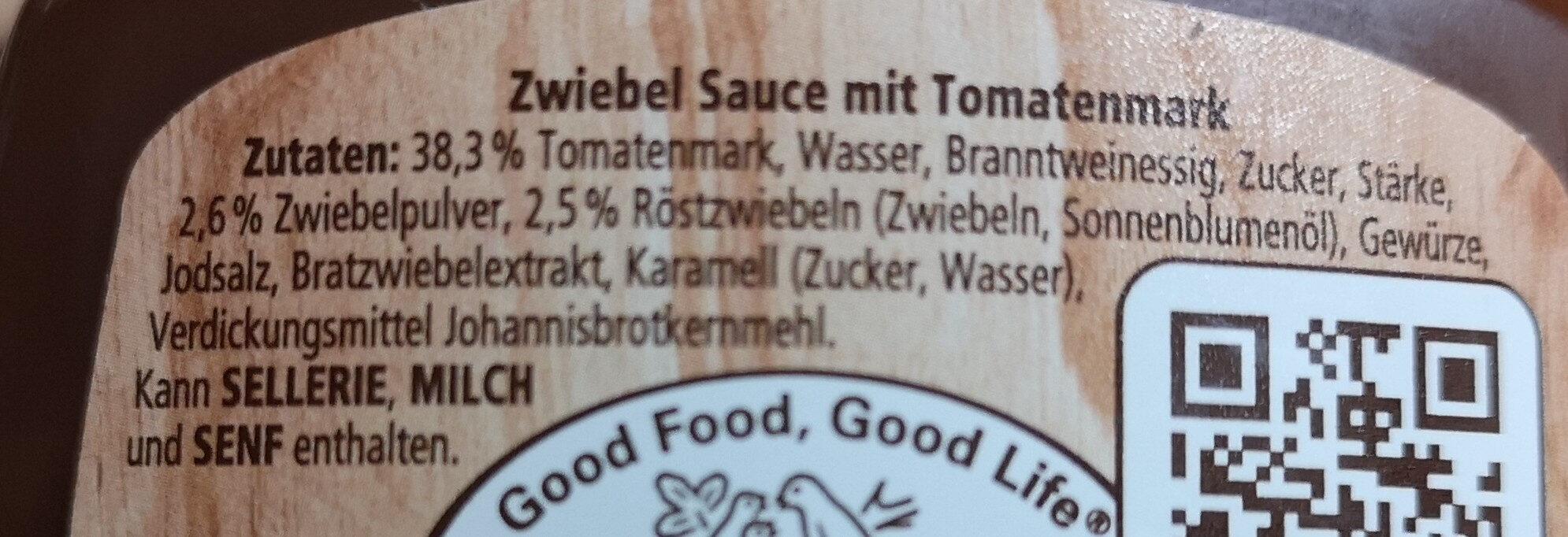 onion sausen - Ingrediënten - de