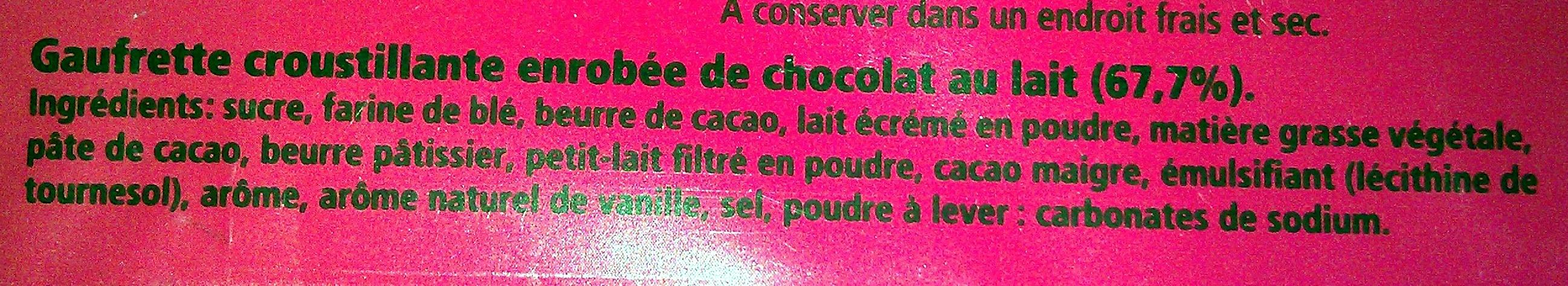Kit Kat - Ingrédients - fr