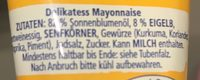 Delikatess Mayonnaise - Ingredients - de