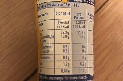 Delikatess Mayonnaise - Nutrition facts