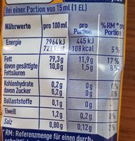 Delikatess Mayonnaise - Nutrition facts - de