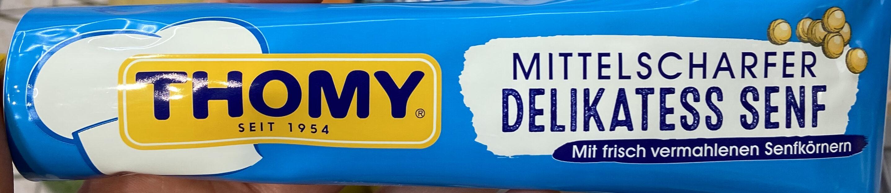 Mittelscharfer Delikatess Senf - Product - de