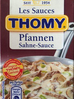Pfannen Sahne-Sauce - Produkt