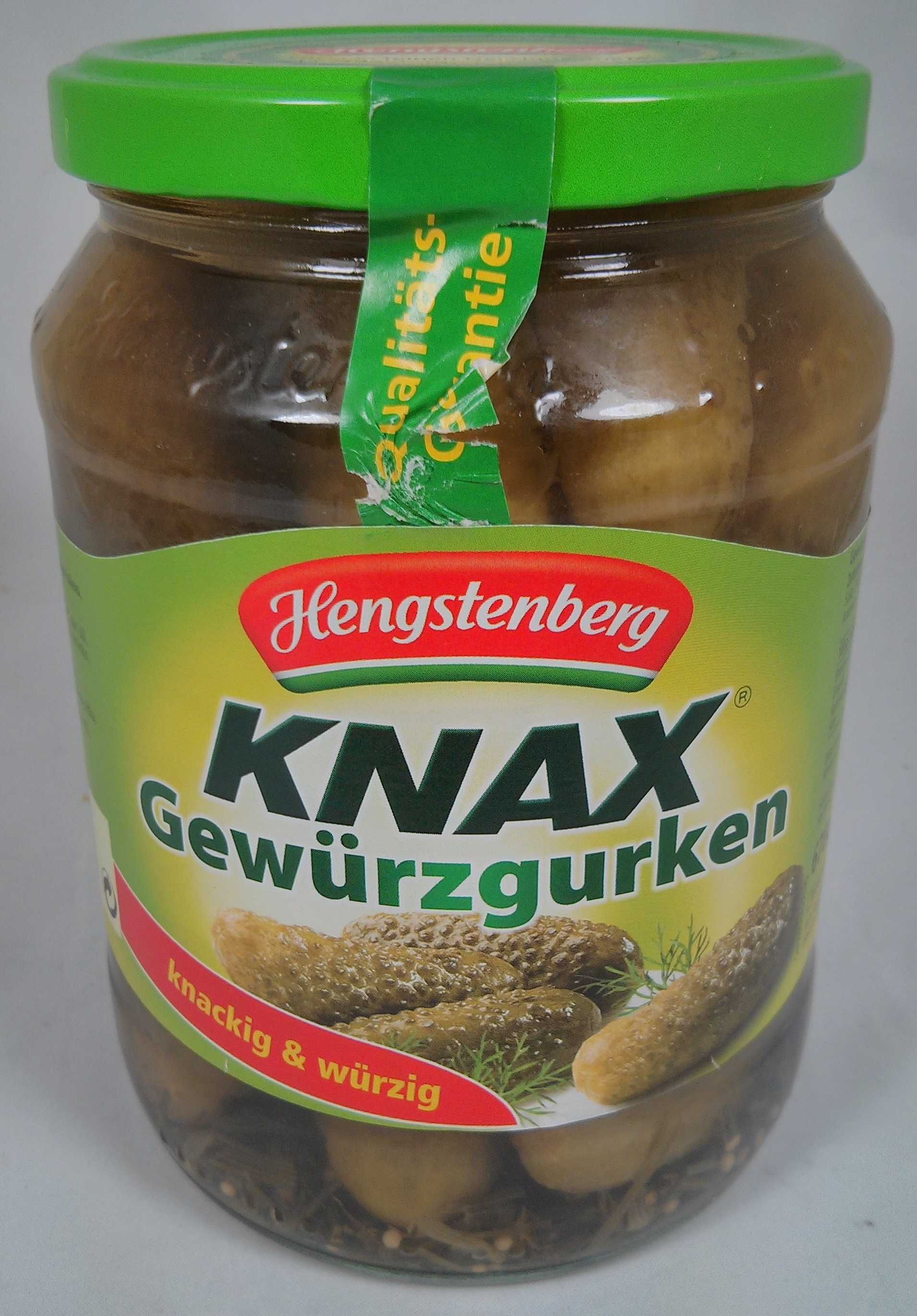Hengstenberg Knax al estilo bávaro - Produkt