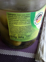 Hengstenberg Knax al estilo bávaro - Ingrediënten