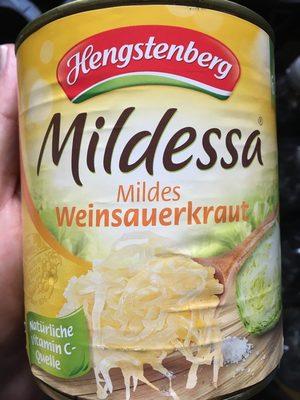 Mildessa Mildes Weinsauerkraut - Product