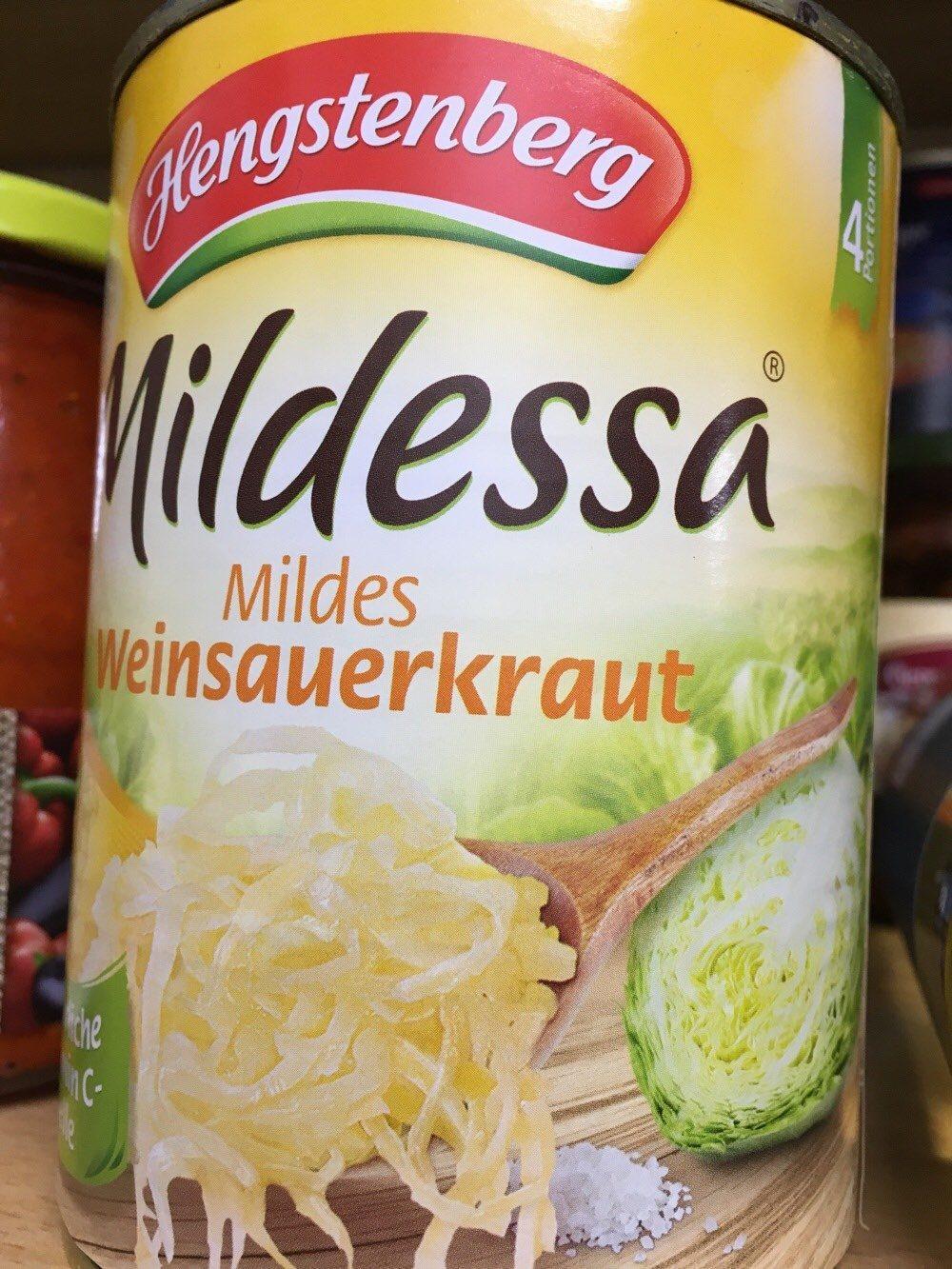 Sauerkraut, Mild - Product