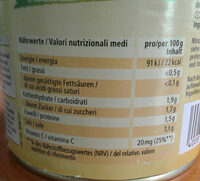 Sauerkraut, Mild - Nutrition facts