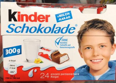 Kinder Schokolade - Prodotto - de